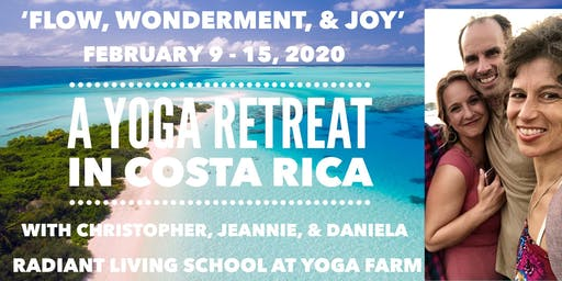 Costa Rica Yoga Retreat 2020!