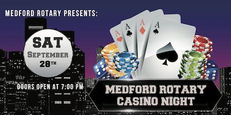 Medford Rotary Casino Night 2019 tickets