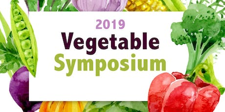 2019 Vegetable Symposium tickets