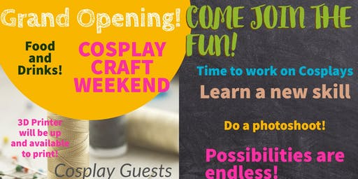 Grand Opening Cosplay Weekend!