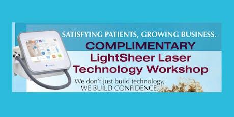 LightSheer Laser Technology Workshop tickets