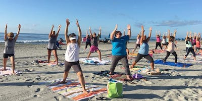 Yoga on the Beach 4 Week Morning Session Begins Wed. Aug. 14th