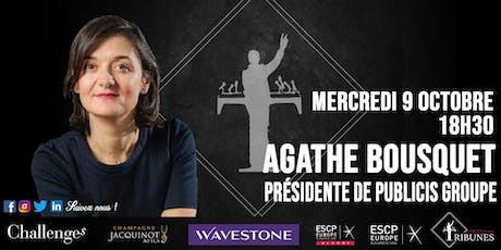 Tribunes reçoit Agathe Bousquet billets