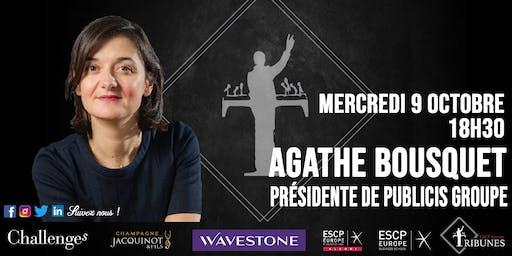 Tribunes reçoit Agathe Bousquet