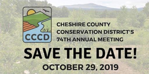 CCCD's 74th Annual Meeting