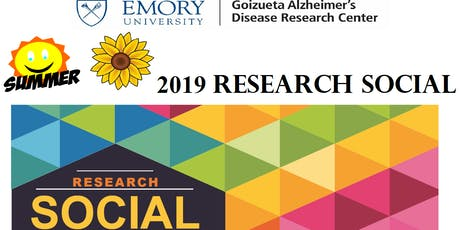 Summer 2019 Research Social  tickets