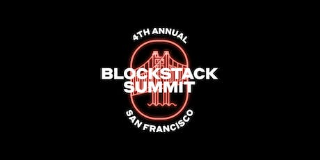 Blockstack 2019 Summit tickets