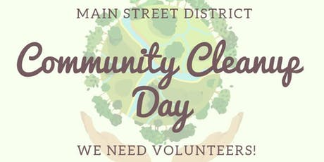 Main Street District Community Cleanup tickets