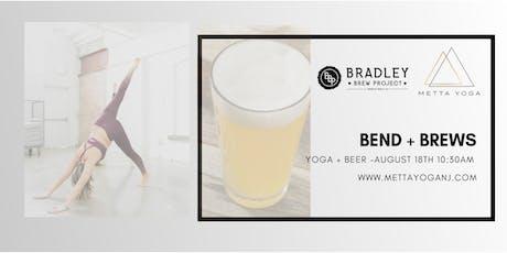 Bend + Brews at Bradley Brew Project 8/18 tickets