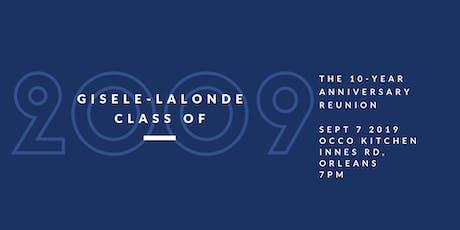 Gisele-Lalonde Grads 09 Reunion tickets