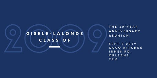Gisele-Lalonde Grads 09 Reunion