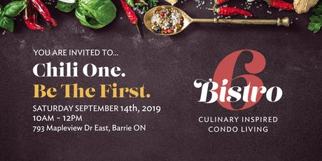 Be the First - Chili One tickets