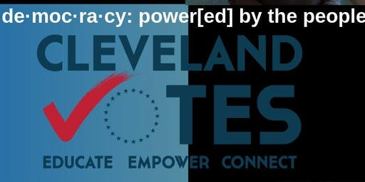 de·moc·ra·cy: power[ed] by the people. National Voter Registration Day Convening