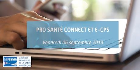 Démonstration Pro Santé Connect et e-CPS billets