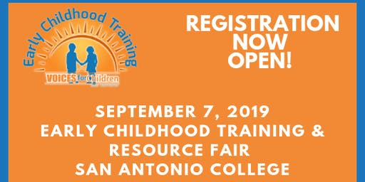 8th Annual District 1 Early Childhood Training at San Antonio College