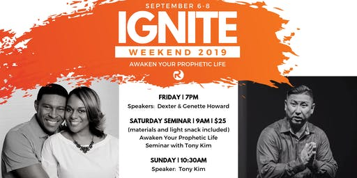 Ignite Weekend | Saturday Seminar Registration