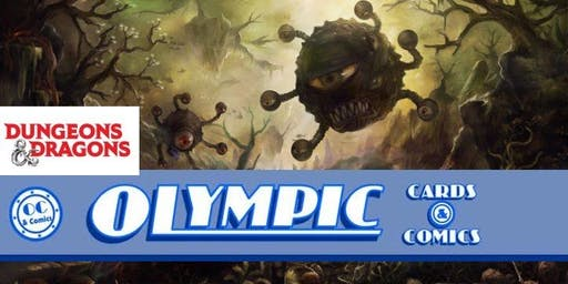 December 11 Dungeons & Dragons Adventure League at Olympic Cards & Comics