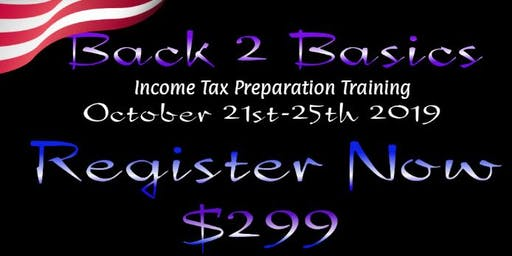 Back 2 Basics Income Tax Preparation