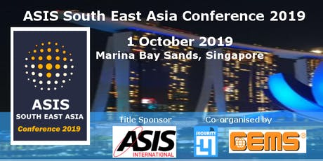 ASIS South East Asia Conference 2019 tickets