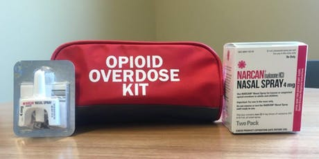 Naloxone (Narcan) Lunch and Learn Training tickets