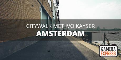 Citywalk Amsterdam Centrum met Ivo Kayser tickets