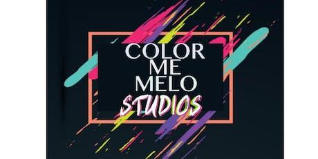 COLOR ME MELO STUDIOS OPEN HOUSE tickets