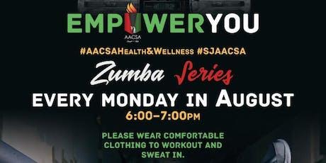 EmpowerYou: Zumba Series tickets