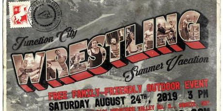 Junction City Wrestling @ Horseshoe Resort - Free Outdoor Event tickets