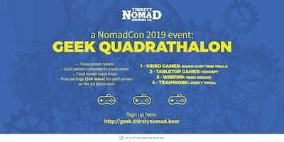 Nomad *** Geek Quardathalon