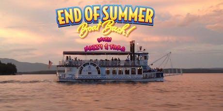 End of Summer Boat Bash on Lake Winnipesaukee! tickets
