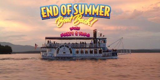 End of Summer Boat Bash on Lake Winnipesaukee!