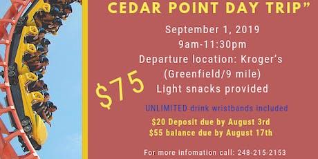 Life's a Roller Coaster Cedar Point Day Trip tickets