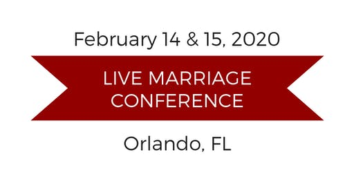 Love and Respect Live Marriage Conference - More information to come later