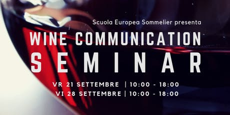 Wine Communication Seminar VICENZA biglietti