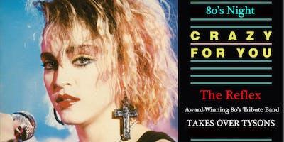 80's Night with The Reflex at The Palladium (former E-Citie/IRIS Lounge location).