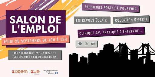 Salon de l'emploi 2019 - CODEM