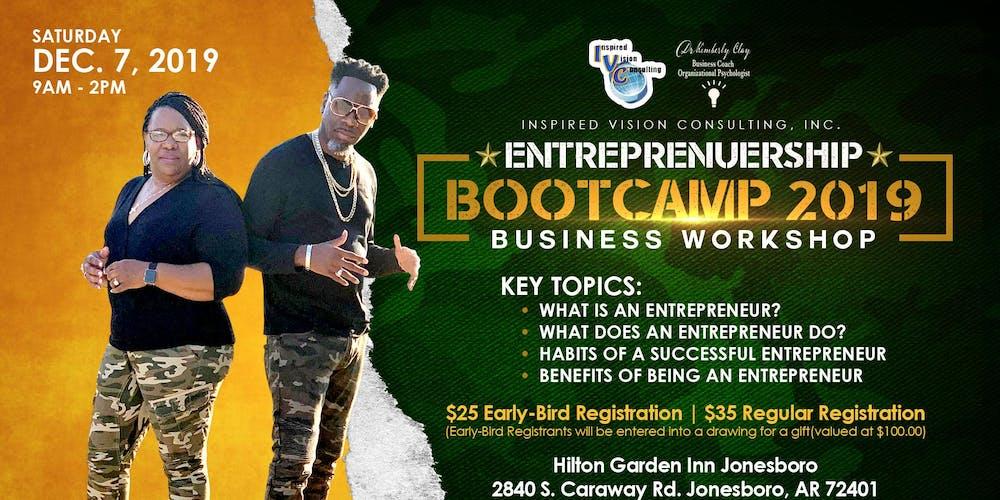 "Entrepreneurship Bootcamp"" 2019 -Business Workshop Tickets"