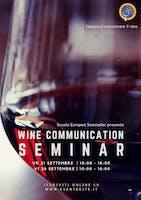 Wine Communication Seminar VERONA