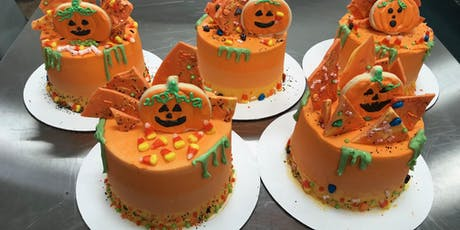 Cake Decorating: Ombre Halloween Candy Drip Cake at Fran's Cake and Candy Supplies tickets