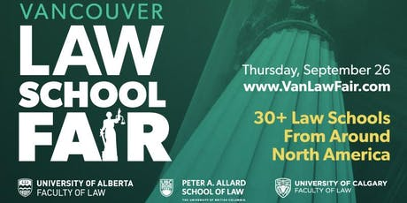 Vancouver Law School Fair 2019 tickets