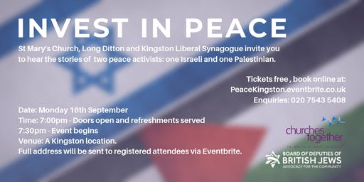 Invest in Peace - Kingston 2019