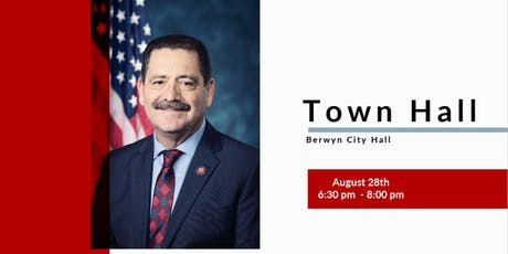 Congressman Garcia's Town Hall tickets
