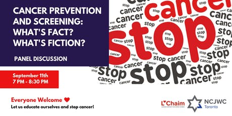 Cancer Prevention &  Screening: What's Fact? What's Fiction? tickets