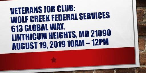 Anne Arundel County Veterans Job Club