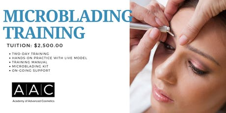 MICROBLADING CERTIFICATION TRAINING tickets