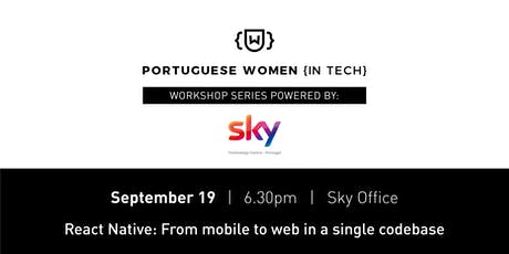 React Native [PWIT Workshop Series powered by: SKY] bilhetes