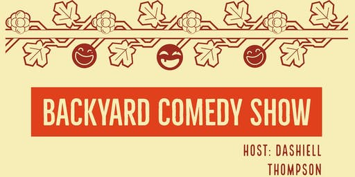 Backyard Comedy Show presented by Jeppson's Malört