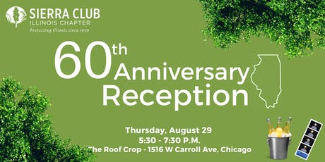 60th Anniversary Reception tickets