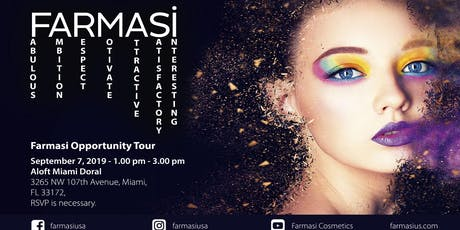 FARMASI OPPORTUNITY TOUR tickets