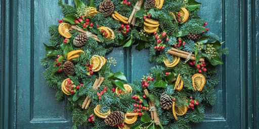 Christmas Wreath Workshop with For the Love of the North